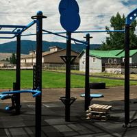 Fitneszparkos edzés
